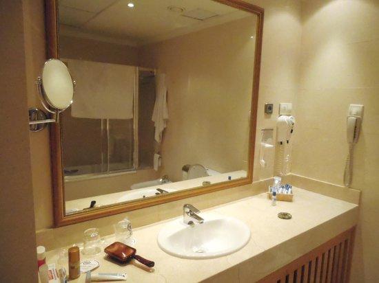 Eurostars Casa de la Lírica: Banheiro