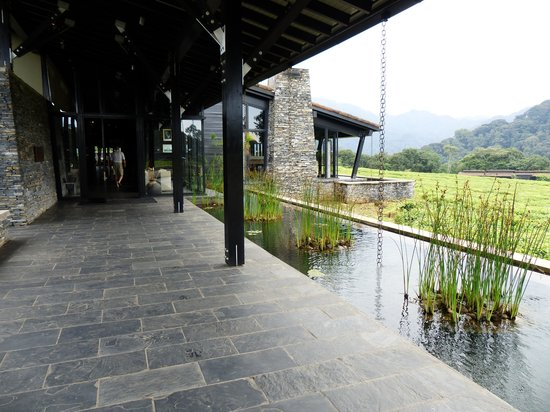 Entry way to Nyungwe Forest Lodge