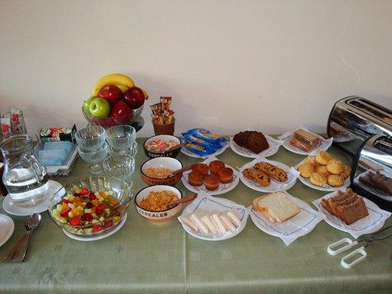 La Escampada: Desayuno caserisimo