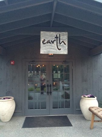 Earth: Front entrance from walkway