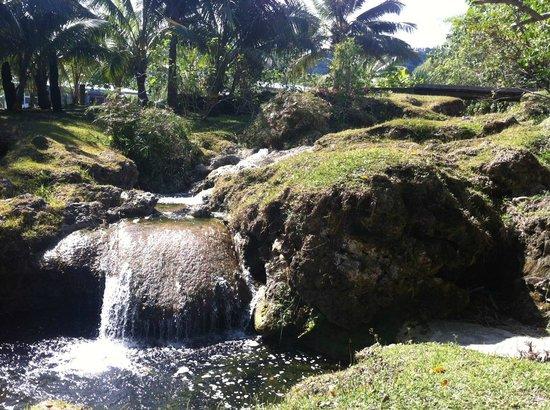 Benjor Beach Club : Lovey waterfall at Benjor