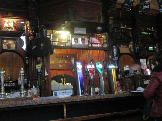 The International Bar: Bar and Taps