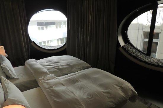 Hotel Topazz: Quarto prestige - 2 janelas elípticas