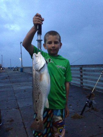 Bob Hall Pier: Redfish