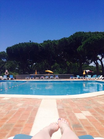 Pinhal da Marina: Main pool and kids pool.