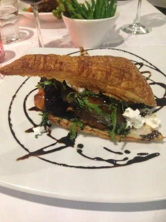 Pavonia Place : Delicious Mushroom Mille-Feuille