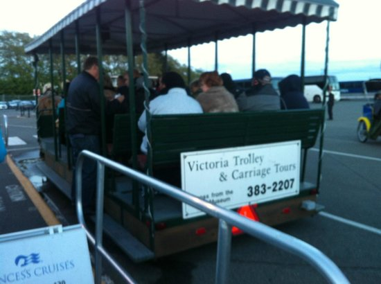 Victoria Carriage Tours: Trolly car
