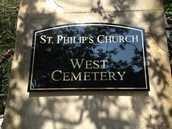 St. Philip's Church: cemetary
