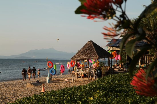 Holiday Inn Resort Penang : Beach front
