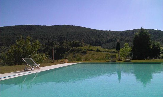 Villa del Sole: Vue de la piscine