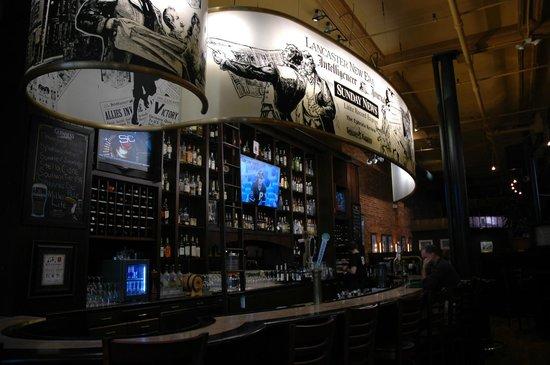 The Pressroom Restaurant: Bar Area