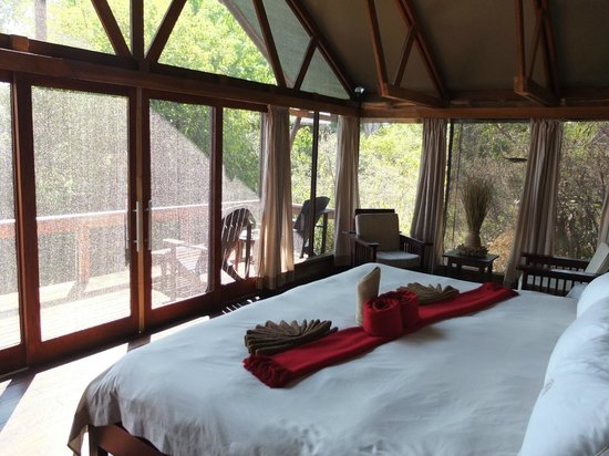 Lebala Camp - Kwando Safaris: Very comfortable bed