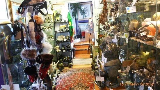 Northern Collectables: Inside store