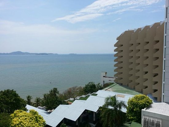 Royal Cliff Beach Hotel: view from my room
