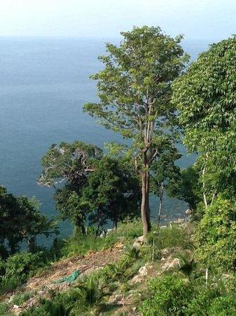 Secret Cliff Resort: vista do quarto
