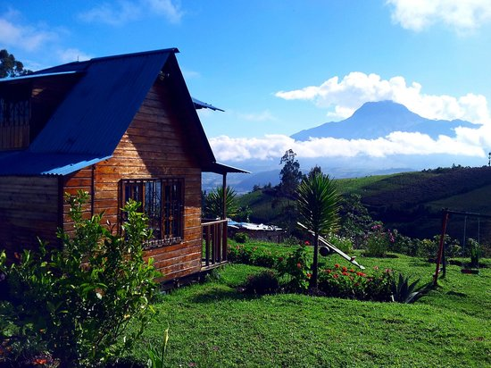 Hosteria Rose Cottage: Volcano View