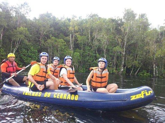 État de Goiás: Descida de bote, sensacional!