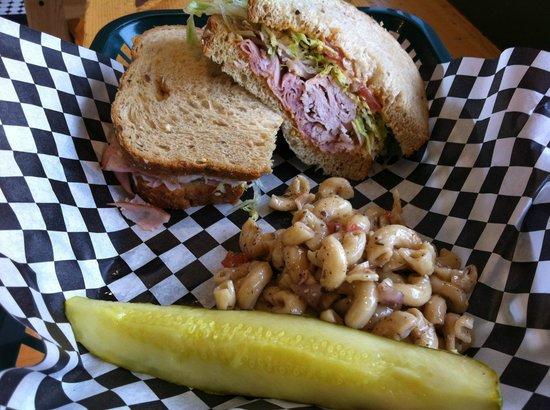 Belmont Deli: 5 oz of Boars Head meet in each sandwich