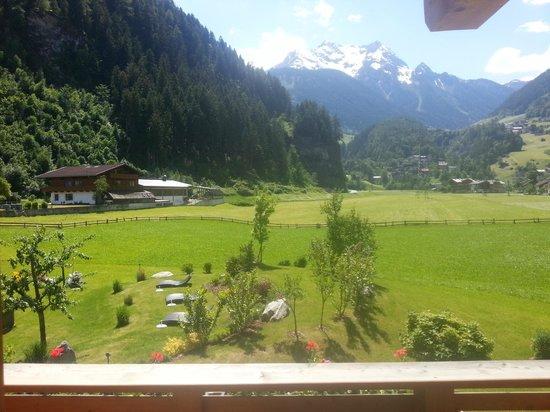 Gutshof Zillertal: view from room