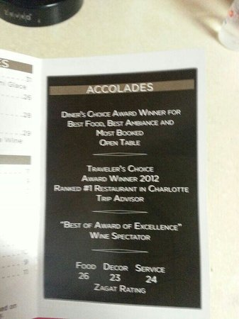 Del Frisco's Double Eagle Steak House: Aw...what