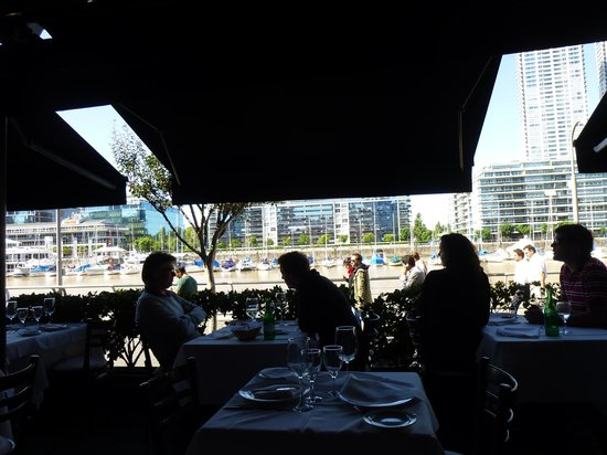 Bahia Madero: View from our table