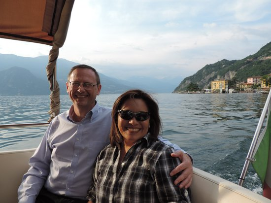 Casa Stacy: on the boat ride on Lake Como