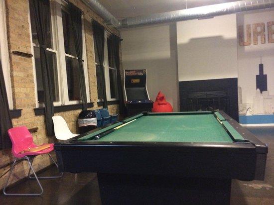 Urban Holiday Lofts: Mesa de bilhar para se divertir
