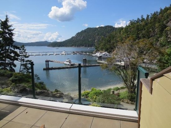 Poets Cove Resort & Spa : view from deck