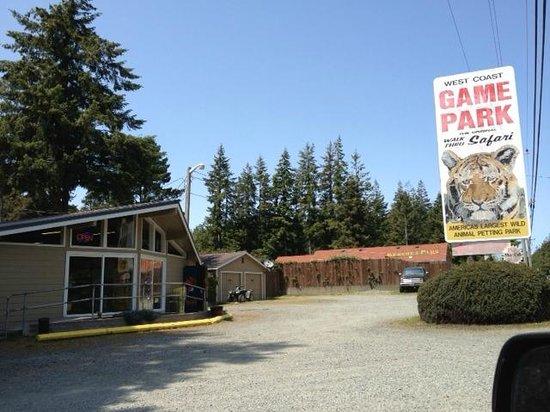 West Coast Game Park Safari: entrance