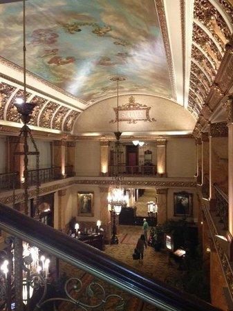 The Pfister Hotel: Pfister Hotel Lobby - Milwaukee, WI