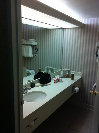 Holiday Inn Washington - Georgetown: Mirror , Bath