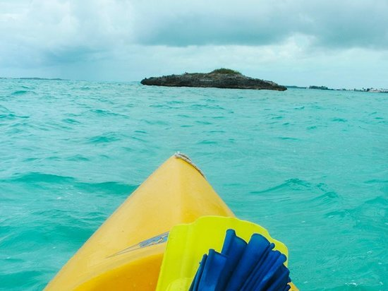 Hideaways at Palm Bay: Rent a kayak, SUP, snorkels, etc from the resort