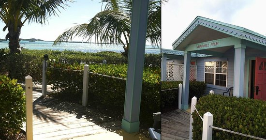 Hideaways at Palm Bay: Exterior, view from the cottage