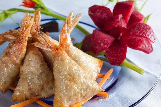 Mandarine Restaurant Saigon: Spring rolls Mandarine style