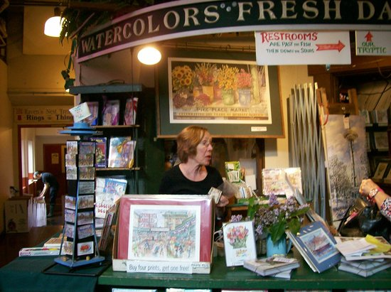 Seattle Watercolors- Watercolors fresh daily - Pike Place Market