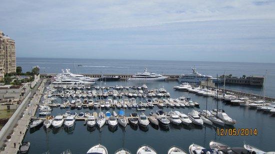 Riviera Marriott Hotel La Porte de Monaco : View from the balcony