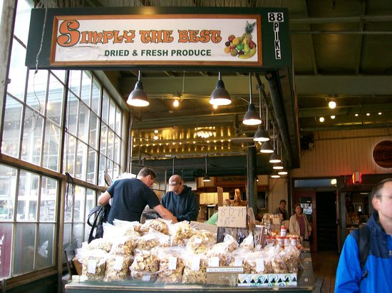 Pike Place Market: 88 Pike Place-Simply The Best,  Dried Fruit
