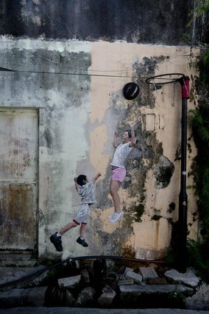Ocean Jupiter: Whimsical George Town found the murals with the help of Ocean and Jupiter
