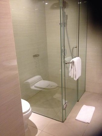 VOUK Hotel & Suites: lovely clean bathroom with a great shower