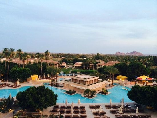 The Phoenician, Scottsdale : 5th floor view