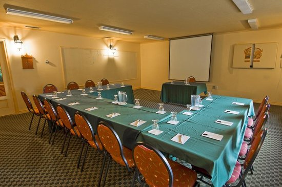 Hotellerie Jardins de ville : Meeting room for conferences, workshops, training sessions, ...