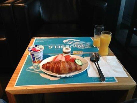 Motel One Salzburg Mirabell : Breakfast