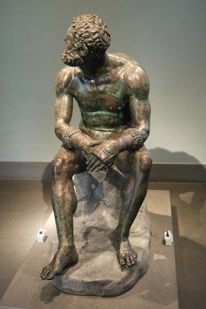 Museo Nazionale Romano - Palazzo Massimo alle Terme: the Boxer