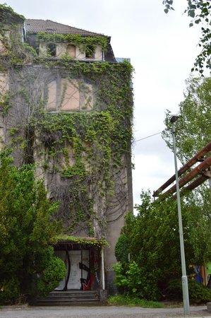 Gedenkstaette Berlin-Hohenschoenhausen : Ivy building