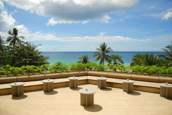The Surin Phuket: View from the lobby