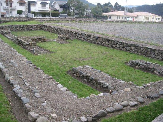 Pumapungo Museo : Incan remains