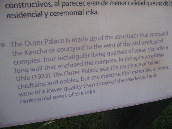 Pumapungo Museo : Palace info