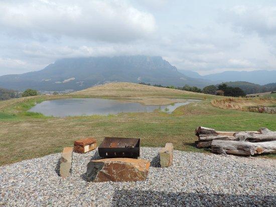 Eagles Nest Retreat: View Mount Roland