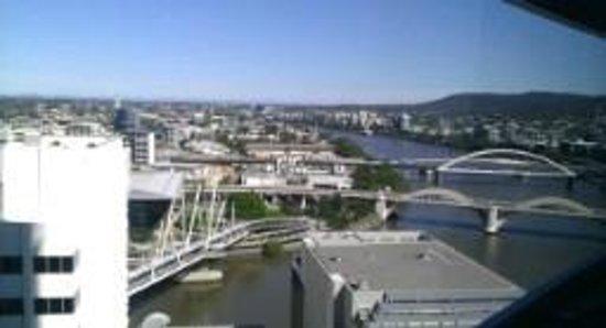 Meriton Suites Herschel Street, Brisbane: view from room at 16th Floor