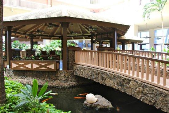 Ka'anapali Beach Club: Restaurant area